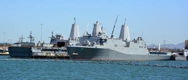 USS新奥尔良 库存图片
