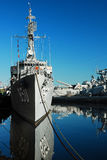USS约瑟夫P肯尼迪 库存照片