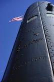 USS背脊柴油潜水艇塔  免版税库存图片