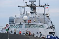 USS自由 免版税库存图片