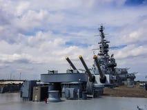 Uss阿拉巴马军舰 免版税库存图片
