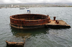 USS Αριζόνα, Pearl Harbor Στοκ φωτογραφίες με δικαίωμα ελεύθερης χρήσης