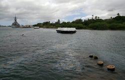 USS Αριζόνα, Pearl Harbor Στοκ εικόνα με δικαίωμα ελεύθερης χρήσης