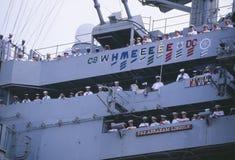 USS Абраюам Линчолн Стоковая Фотография RF