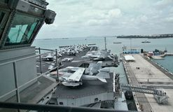 USS Абраюам Линчолн Стоковое фото RF