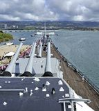USS Миссури Стоковая Фотография RF