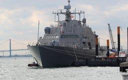 USS底特律 库存图片