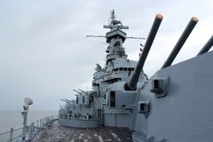 USS Alabama Royalty Free Stock Image