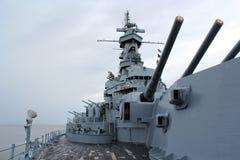 USS Alabama Immagine Stock Libera da Diritti