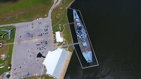USS Alabama fotos de archivo libres de regalías