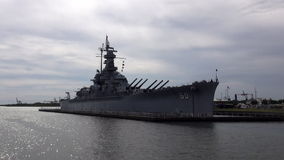 USS Alabama Battleship   ALABAMA OCTOBER 16, 2013. USS Alabama Battleship   ALABAMA/USA OCTOBER 16, 2013 stock footage
