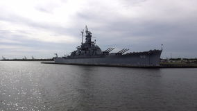 USS Alabama Battleship   ALABAMA OCTOBER 16, 2013. USS Alabama Battleship   ALABAMA/USA OCTOBER 16, 2013 stock video