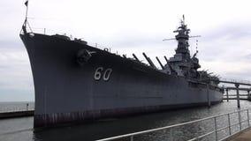 USS Alabama Battleship   ALABAMA OCTOBER 16, 2013 stock video