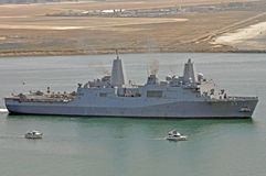 The USS Anchorage (LPD-23) Stock Photo