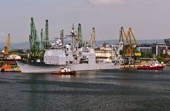 USS Anzio (CG-68) Stock Image