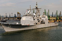 USS Anzio (CG-68) Stock Photos