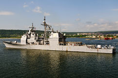 USS Anzio (CG-68) Royalty Free Stock Photo