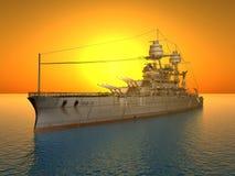 USS Arizona ilustración del vector