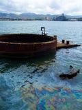 USS Arizona Imágenes de archivo libres de regalías