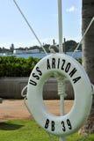 USS Arizona Photographie stock libre de droits