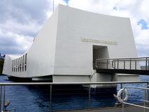 USS Arizona Memorial Royalty Free Stock Photo