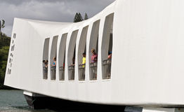 USS Arizona Memorial Stock Photos