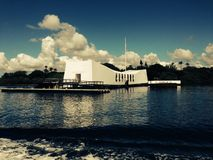 uss arizona memorial Fotografia Royalty Free