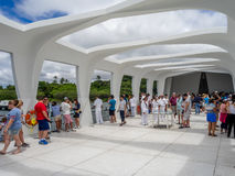 uss arizona memorial Obraz Royalty Free