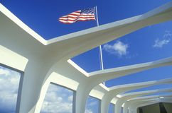 USS Arizona Memorial Museum royalty free stock photos