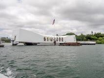 USS Arizona Memorial Royalty Free Stock Photo