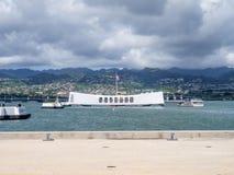 USS Arizona Memorial Stock Photos