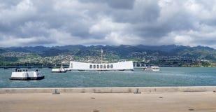 USS Arizona Memorial Royalty Free Stock Photography