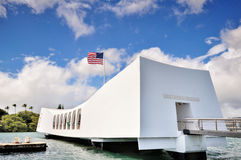 USS Arizona Memorial Royalty Free Stock Images