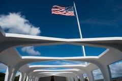 USS Arizona Memorial Stock Image