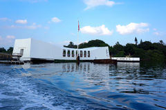 USS Arizona Memorial. At World War II Valor in the Pacific National Monument, home of the USS Arizona Memorial, one can learn about one of the most pivotal Stock Photography