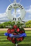USS Arizona Royalty Free Stock Photos
