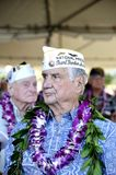 USS Arizona survivors Stock Image