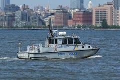 USS Bainbridge à la semaine de flotte images libres de droits