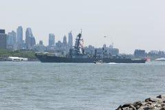 USS Bainbridge an der Flotten-Woche stockfoto