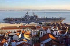 USS Bataan royalty free stock images