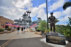USS Battleship Missouri Memorial Royalty Free Stock Image