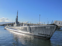 USS Bowfin - Pearl Harbor Hawaii Royalty Free Stock Photo