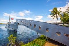USS Bowfin SS-287潜水艇 免版税库存图片