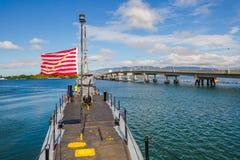 USS Bowfin Submarine Royalty Free Stock Photo