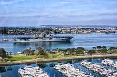 USS Boxer Royalty Free Stock Photography