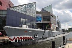 USS brozma i obywatela akwarium w Baltimore Fotografia Stock