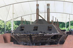 USS Cairo Ironclad War Ship Stock Photo