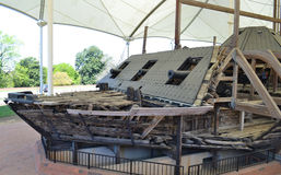 USS Cairo stock photography