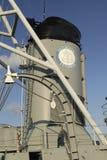 USS Cassin Junge am Boston-Marineyard Stockfotografie