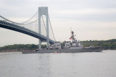 USS Cole guided missile destroyer of the United St Stock Images